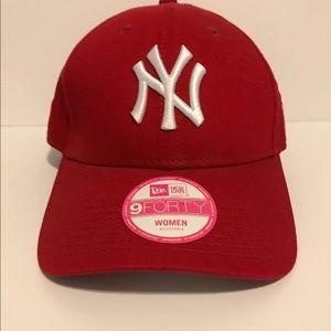 5df27065c8443 New Era Accessories - New York Yankees Cap Women s Red White